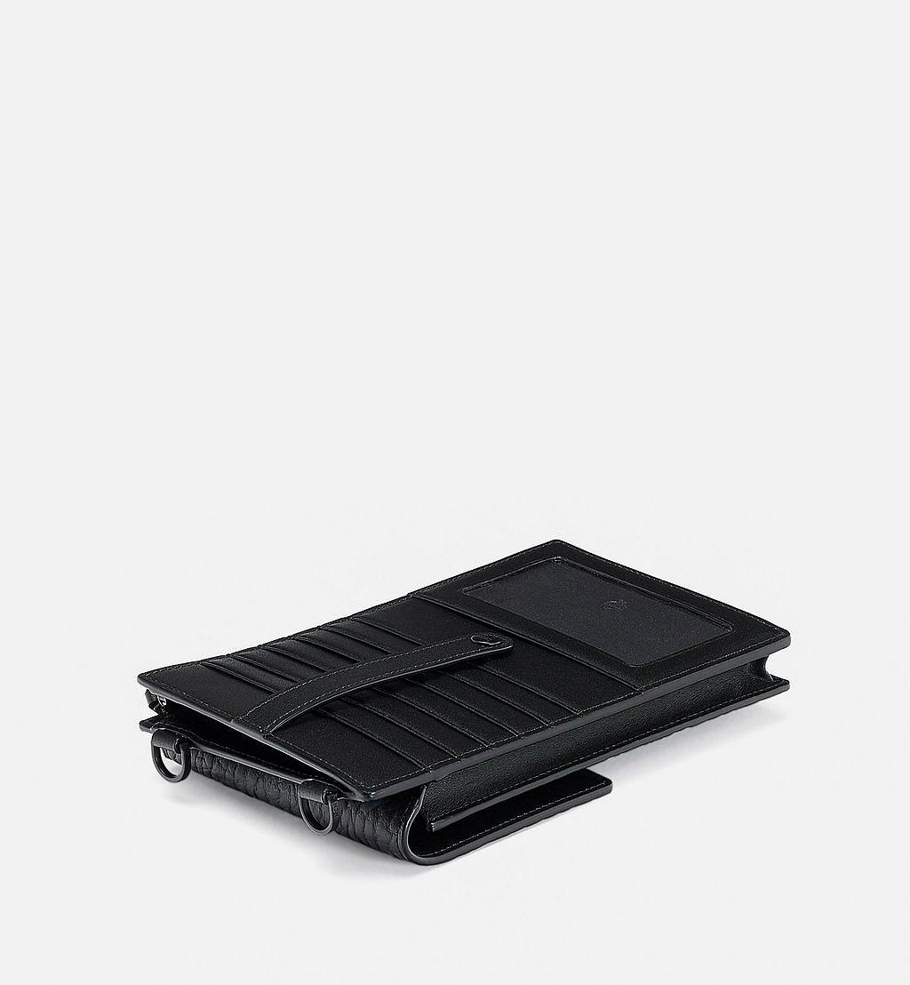 MCM Crossbody Phone Case in Tech Flower Visetos Black MXZBSSX03BK001 Alternate View 1