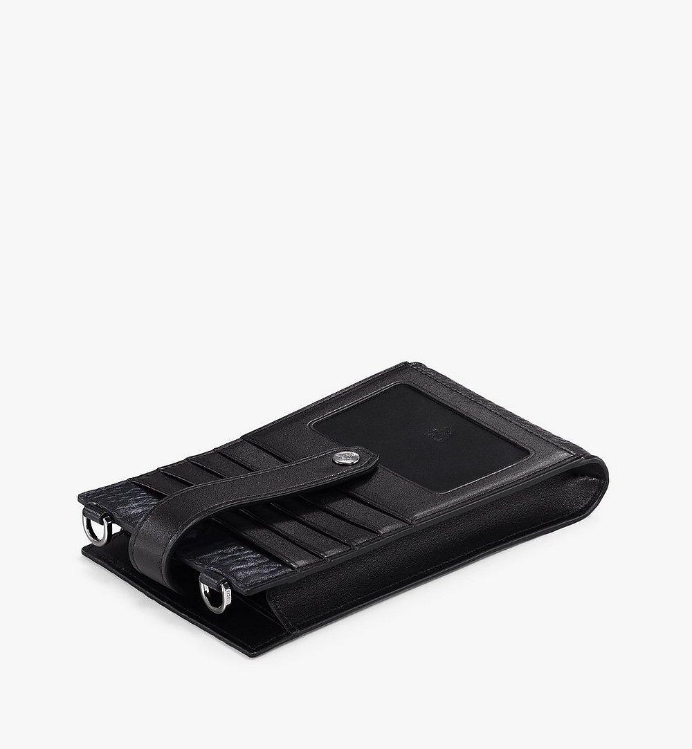 MCM Multifunction Phone Case in Visetos Original Black MXZBSVI01BK001 Alternate View 1