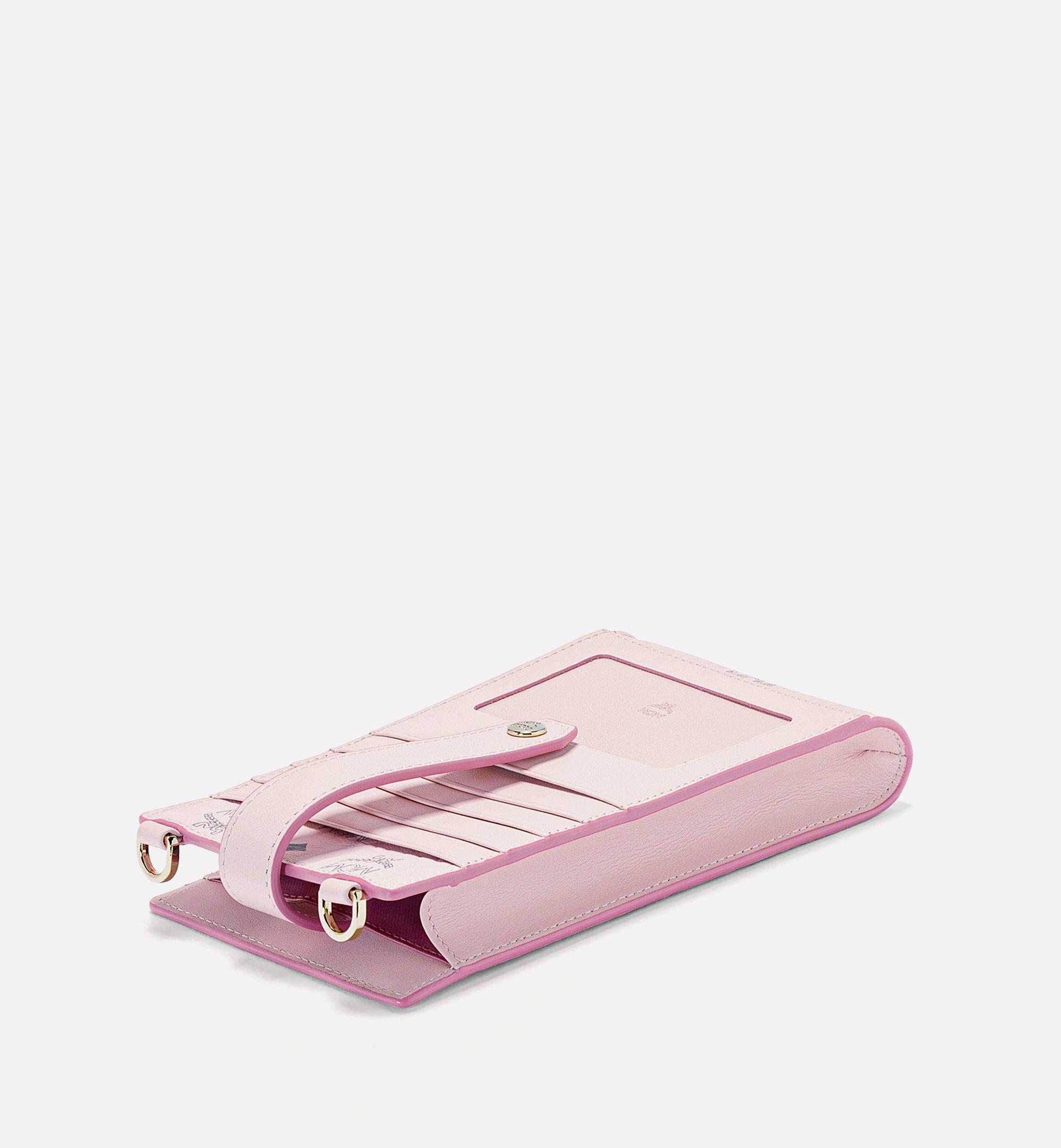 MCM Visetos Original 系列多功能手機保護套 Pink MXZBSVI01QH001 更多視圖 1