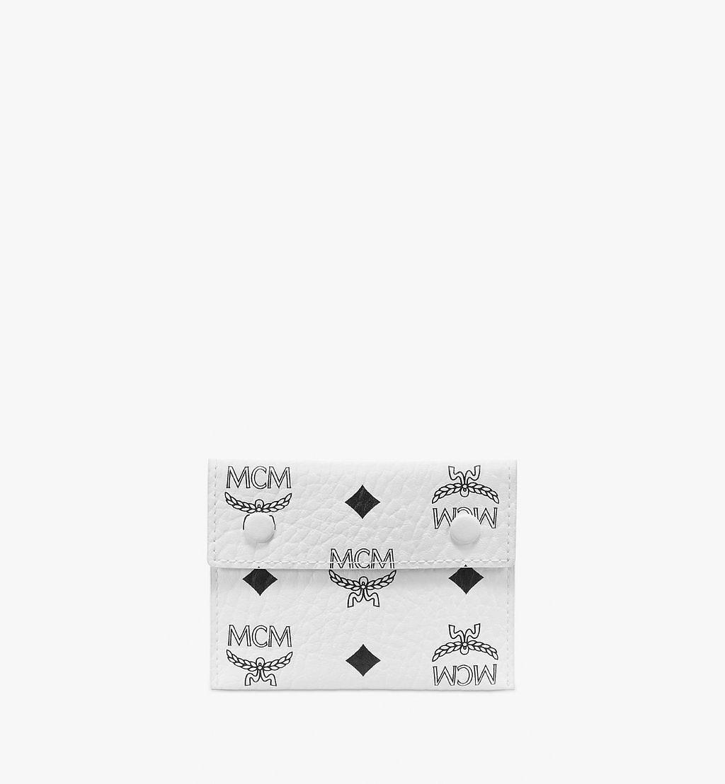 MCM Tri Pouch in Visetos Mix Cognac MXZBSVI04CO001 Alternate View 4