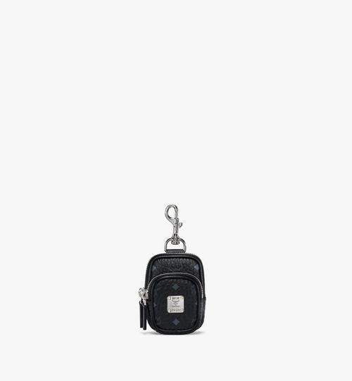 Pouch Charm w/ Pocket in Visetos Original