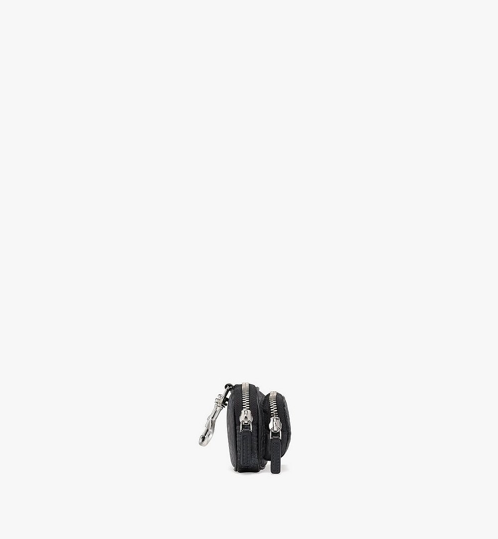 MCM Visetos Original带口袋手拿包挂饰 Black MXZBSVI08BK001 更多视角 1