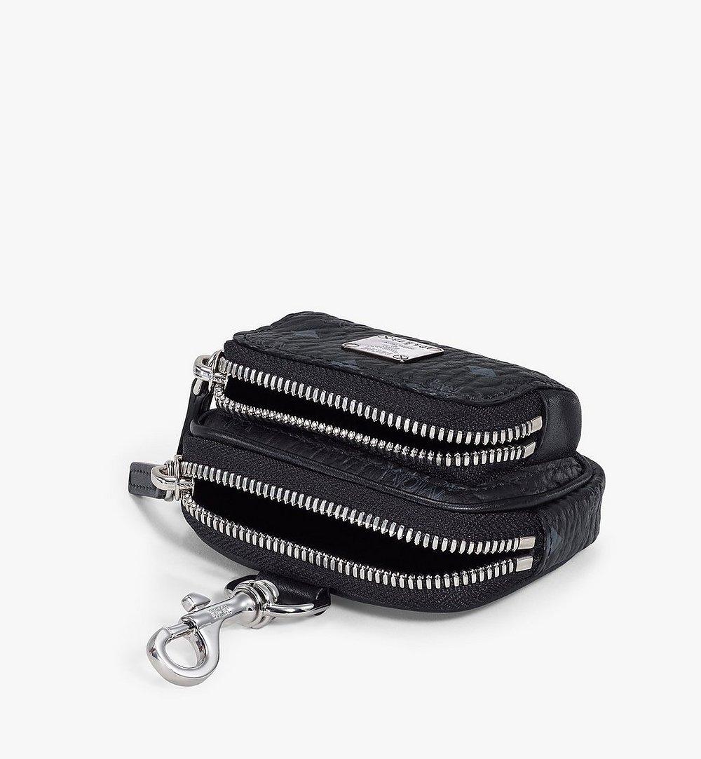 MCM Visetos Original带口袋手拿包挂饰 Black MXZBSVI08BK001 更多视角 2