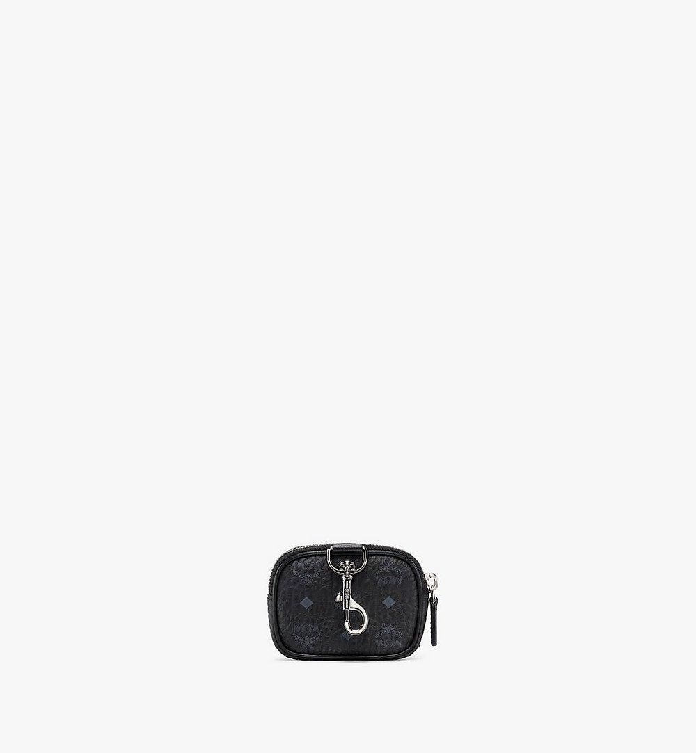 MCM Visetos Original带口袋手拿包挂饰 Black MXZBSVI08BK001 更多视角 3