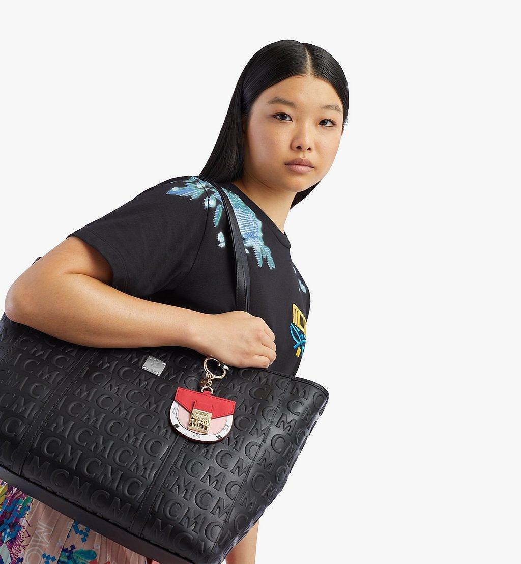 MCM 2D-Taschenanhänger Patricia in Visetos Leather Mix Pink MXZBSVI12R4001 Noch mehr sehen 2