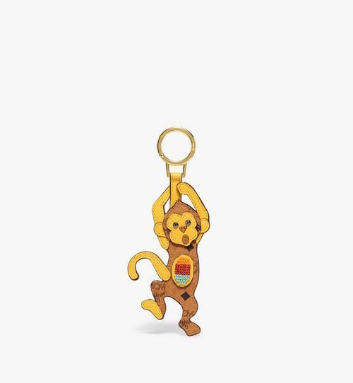 Porte-clés MCM Zoo singe 2D en Visetos