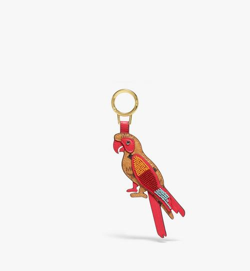 Porte-clés MCM Zoo perroquet 2D en Visetos