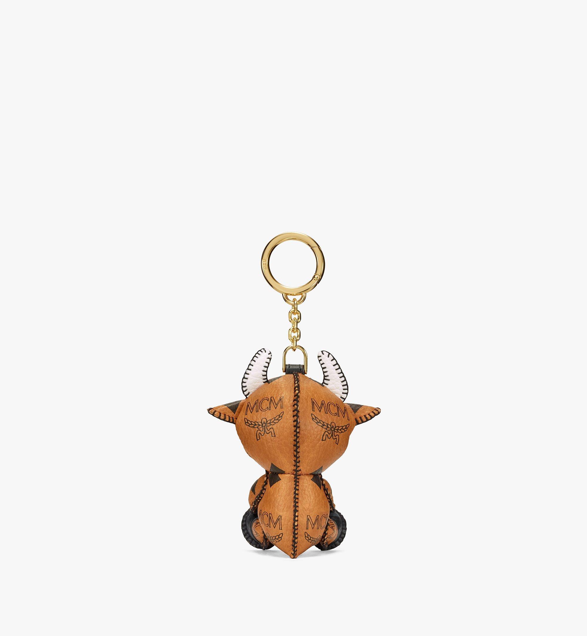 MCM New Year Ox Schlüsselanhänger in Visetos Cognac MXZBSXL09CO001 Noch mehr sehen 2