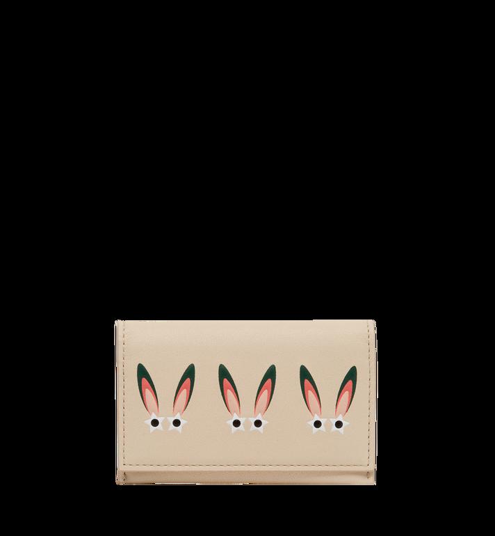 MCM Star Eyed Bunny Visitenkartenetui aus Leder Alternate View