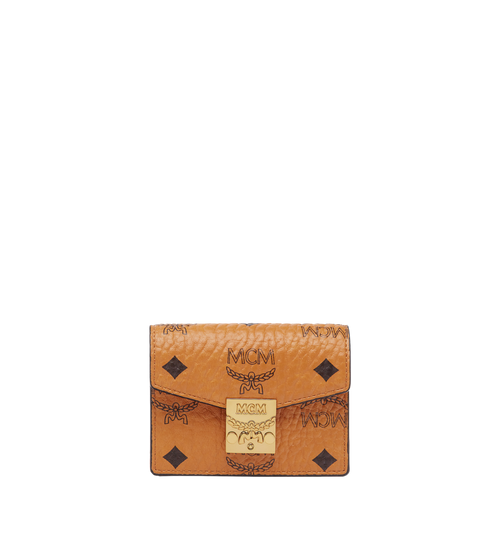 Patricia Accordion Card Case in Visetos