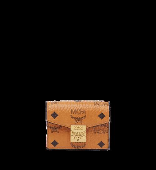 Patricia Accordion Card Case in Visetos