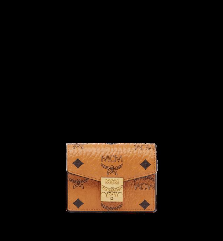 MCM Patricia Accordion Card Case in Visetos MYA7SPA14CO001 AlternateView