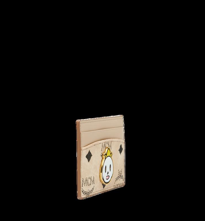MCM MCM x Eddie Kang Card Case in Visetos AlternateView2