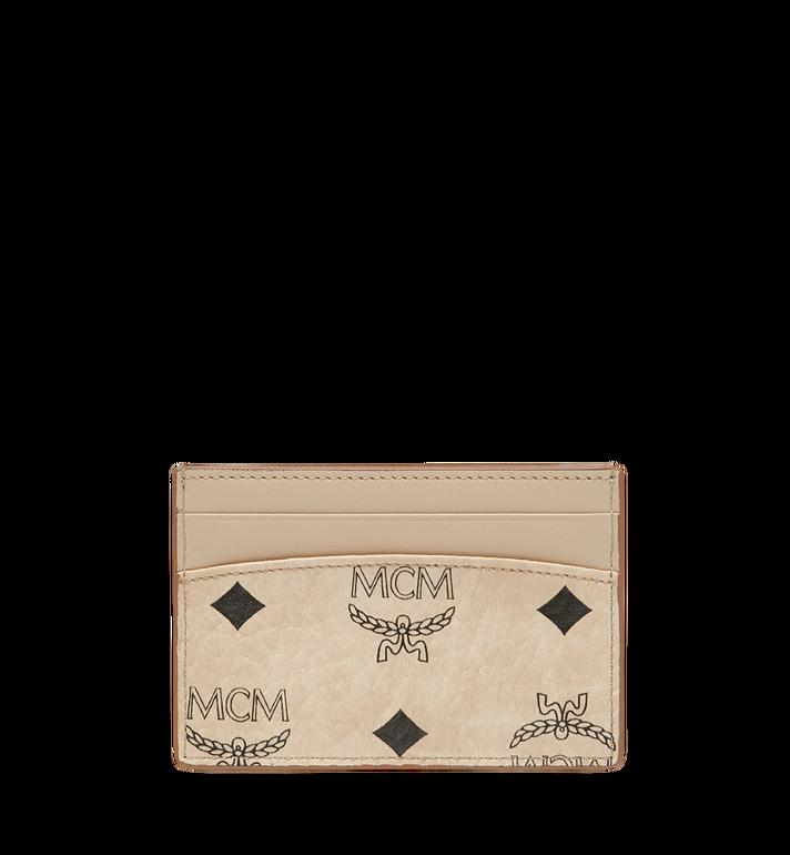 MCM MCM x Eddie Kang Card Case in Visetos AlternateView3