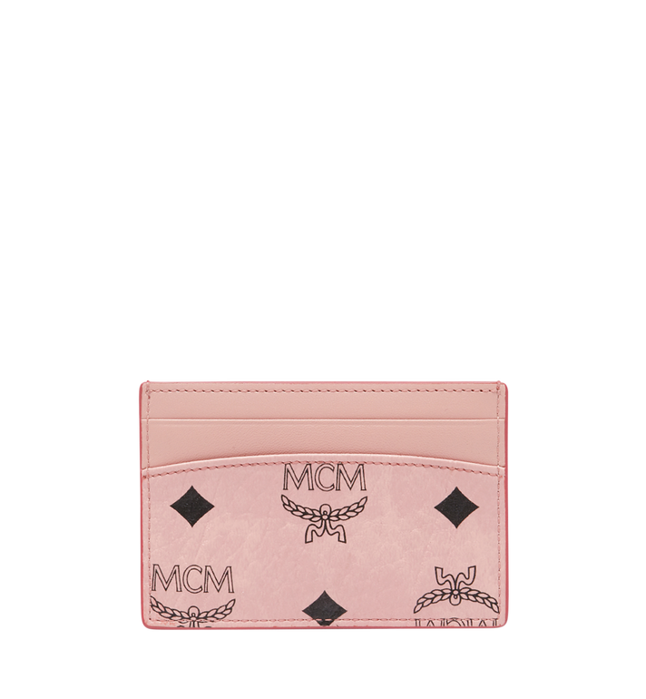 MCM MCM x Eddie Kang Card Case in Visetos AlternateView3