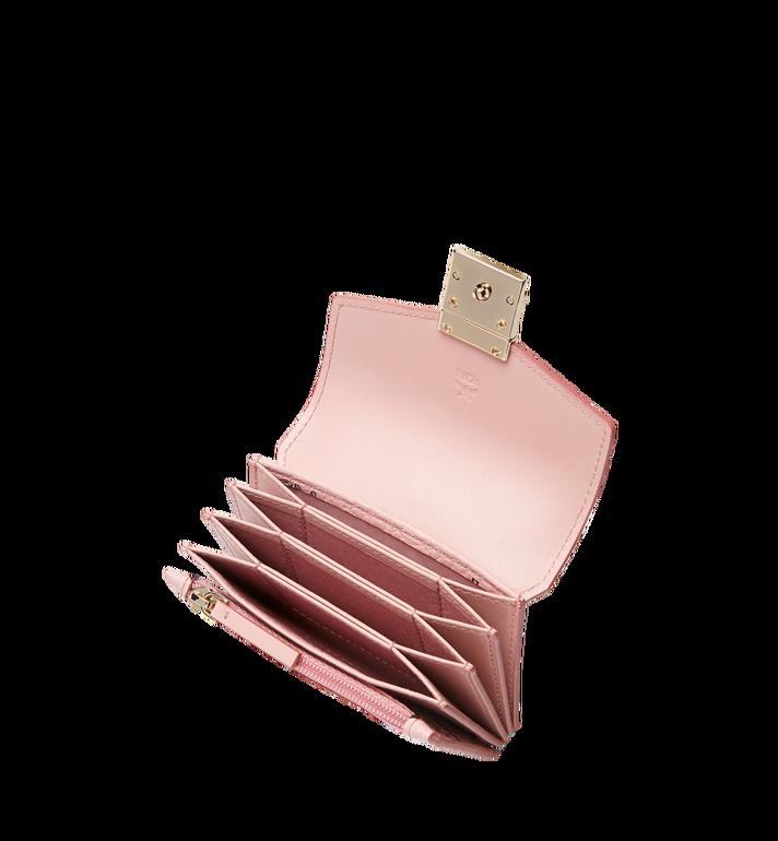MCM Patricia Accordion Card Case in Visetos Pink MYA8SPA14PZ001 Alternate View 4
