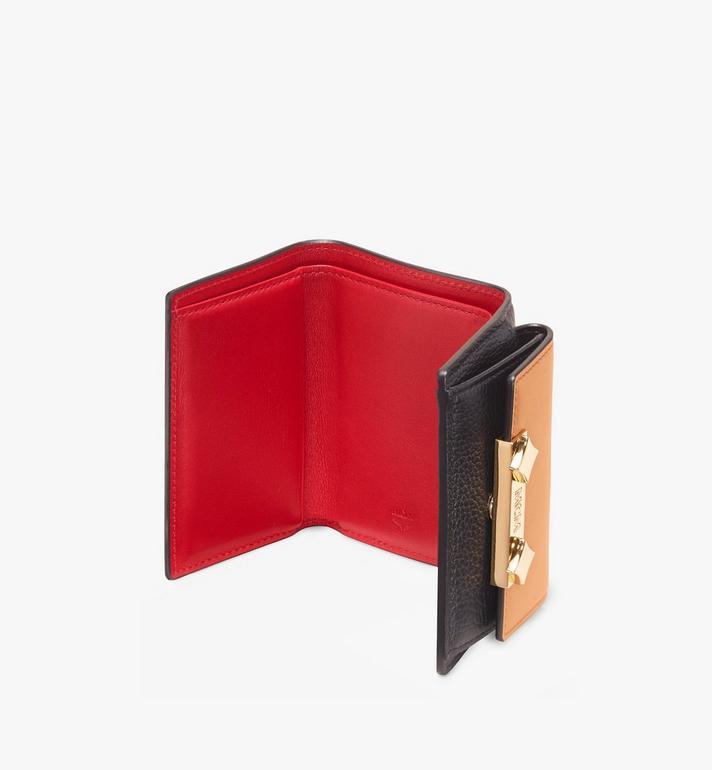 MCM Milano Mini Three-Fold Wallet  MYA9ADA05BK001 Alternate View 3