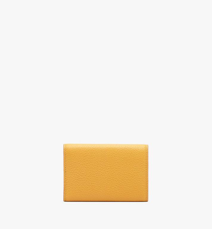 MCM Patricia Three-Fold Wallet in Park Avenue Leather Yellow MYA9APA67YJ001 Alternate View 2
