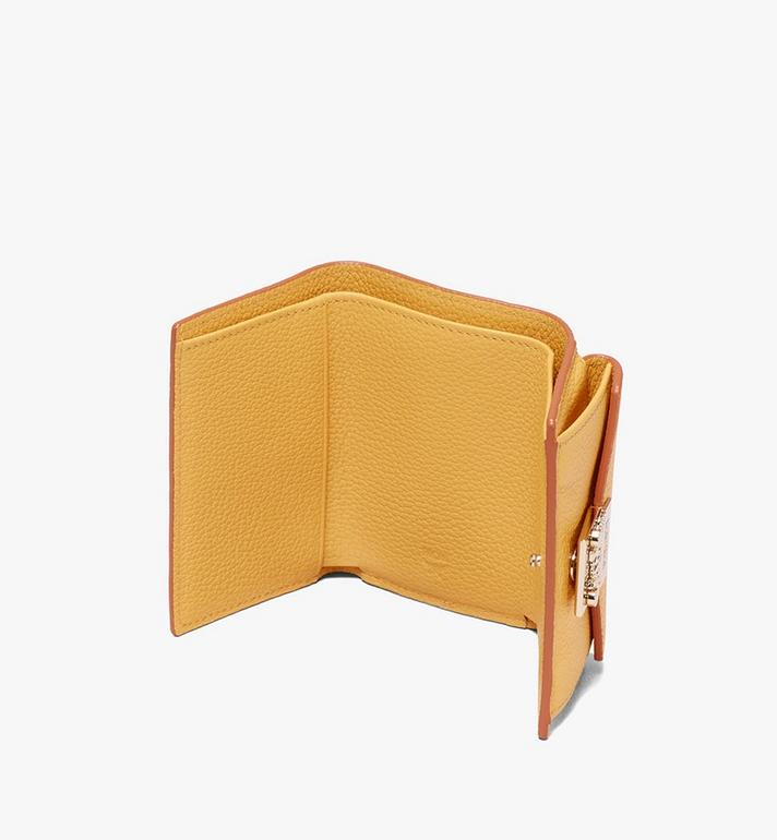 MCM Patricia Three-Fold Wallet in Park Avenue Leather Alternate View 3