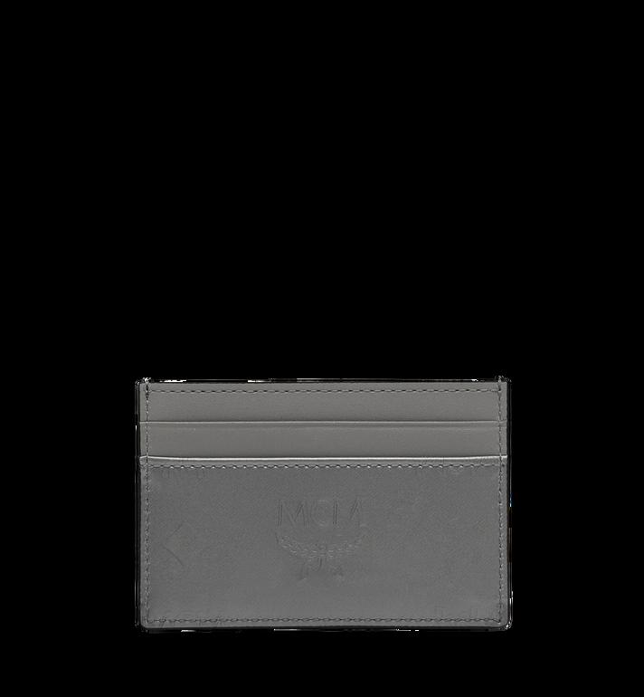 MCM Card Case in Monogram Patent Leather Grey MYA9SPM05EG001 Alternate View 3