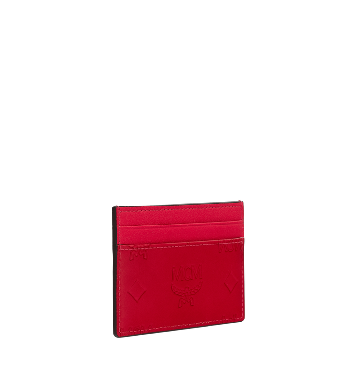 MCM Card Case in Monogram Patent Leather Alternate View 2