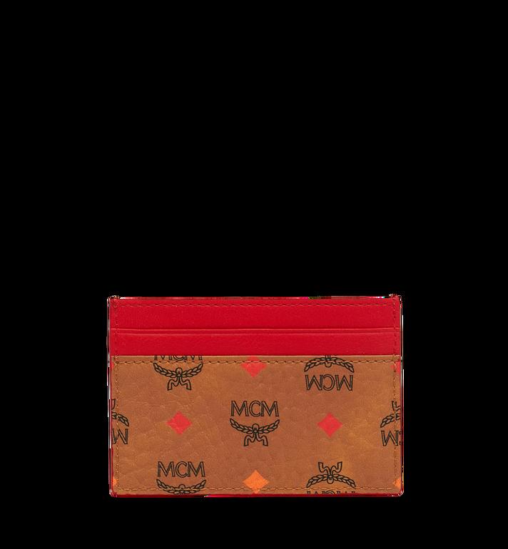 MCM Card Case in Skyoptic Visetos MYA9SSV67CA001 AlternateView