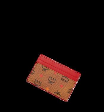 MCM Card Case in Skyoptic Visetos Cognac MYA9SSV67CA001 Alternate View 4