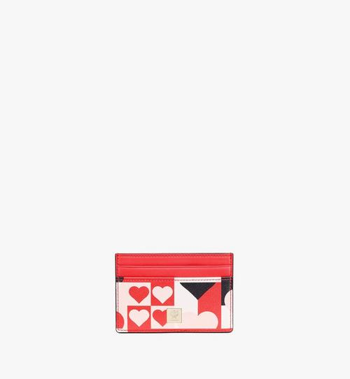 Card Case in Cubic Valentine Leather