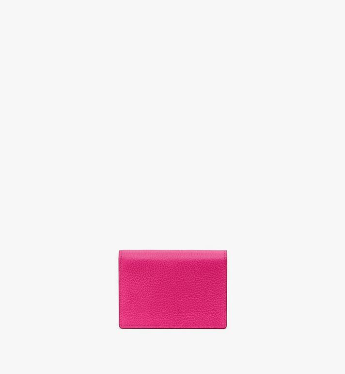 MCM Love Letter Wallet in Color Block Leather Pink MYAAALV01QJ001 Alternate View 3