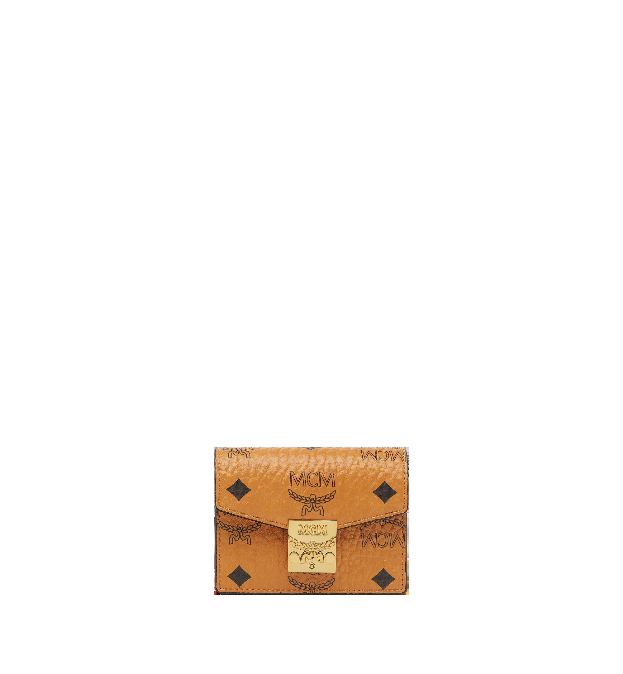 MCM Patricia Akkordeon-Kartenetui in Visetos Cognac MYAAAPA01CO001 Noch mehr sehen 1