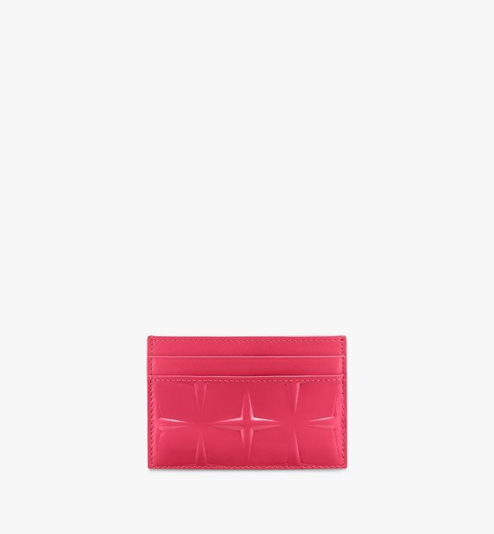 MCM Card Holder in Diamond Patent Leather Alternate View