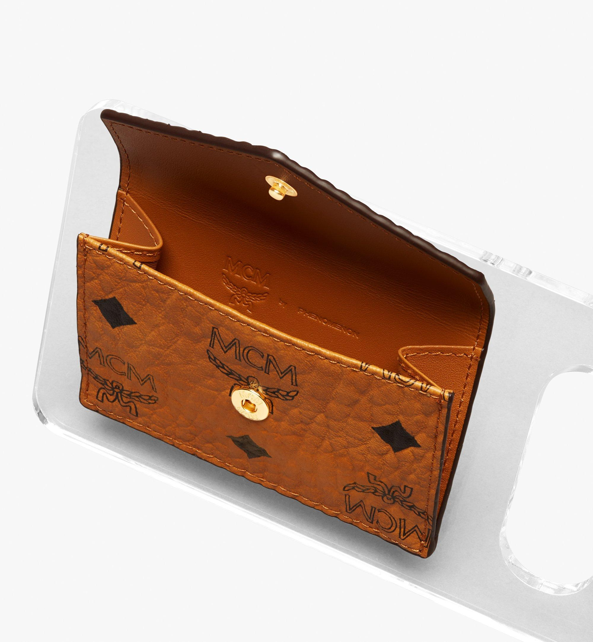 MCM MCM x PHENOMENON Mini-Portemonnaie in Visetos mit Acrylrahmen  MYAASJP02CO001 Noch mehr sehen 1
