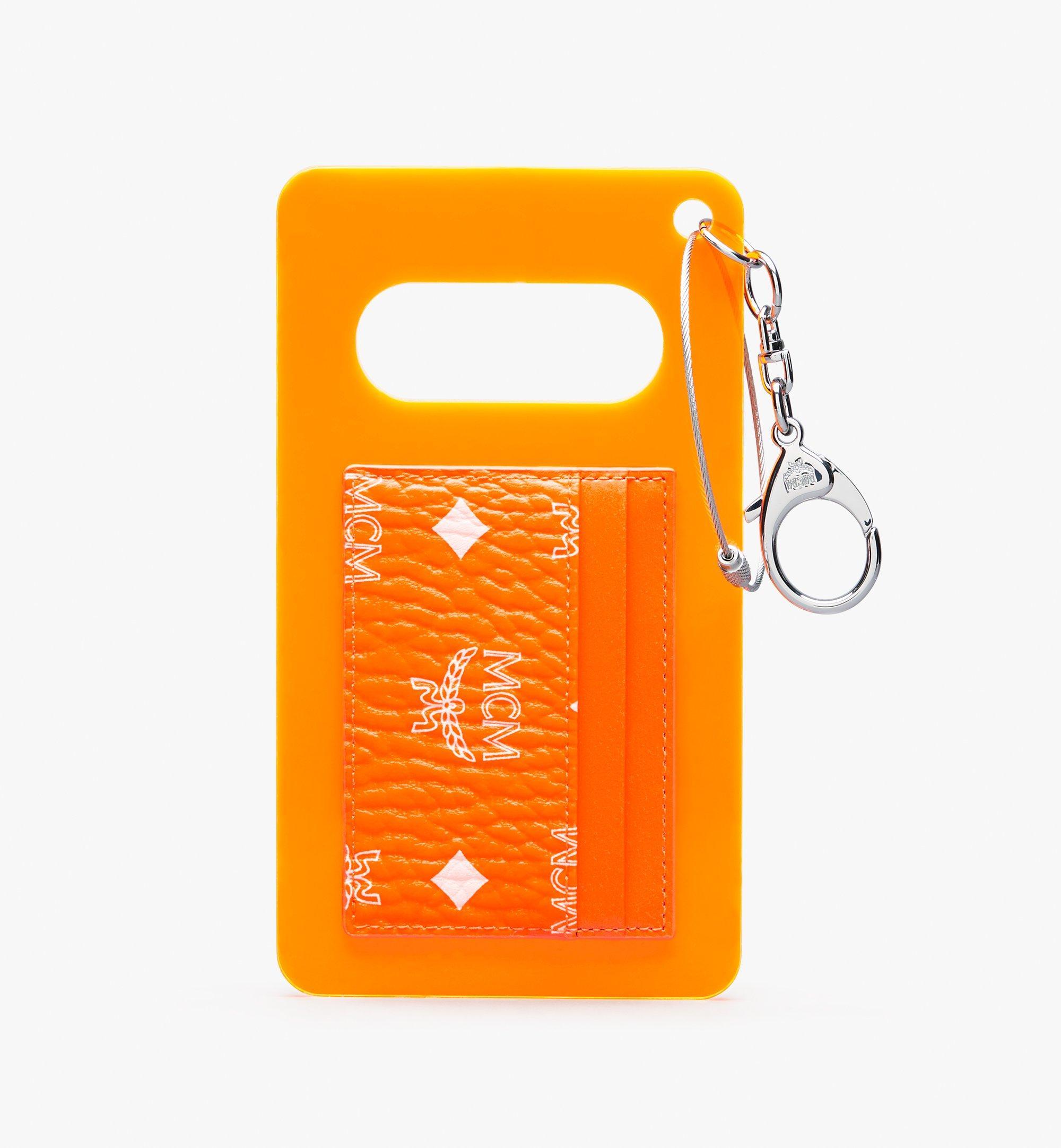 MCM 〈MCM by PHENOMENON〉アクリル ディスク カードケース - ヴィセトス Orange MYAASJP03OW001 ほかの角度から見る 1