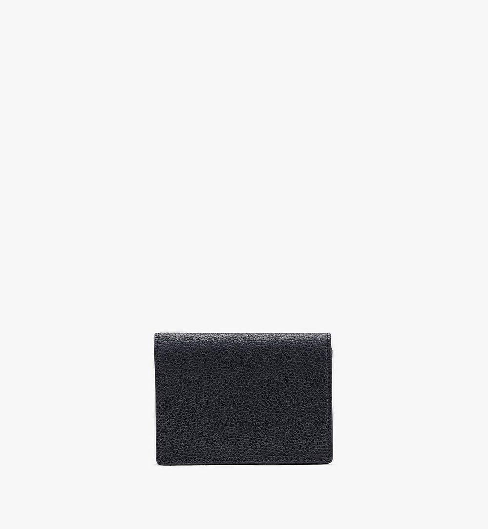 MCM Love Letter Wallet in Park Avenue Leather Black MYAASLV01BK001 Alternate View 1
