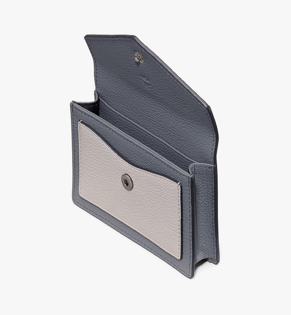 MCM Love Letter Wallet in Park Avenue Leather Black MYAASLV01BK001 Alternate View 2