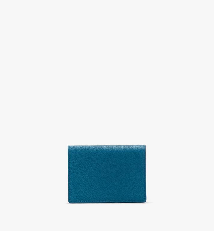 MCM Love Letter Wallet in Park Avenue Leather Blue MYAASLV01JF001 Alternate View 2