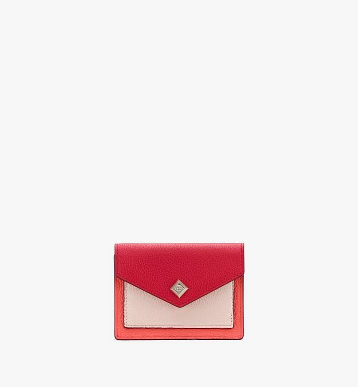 MCM Love Letter Mini Wallet in Park Avenue Leather Alternate View