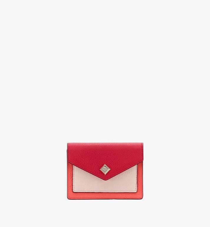 MCM Love Letter Mini-Brieftasche aus Leder in Park Avenue Alternate View