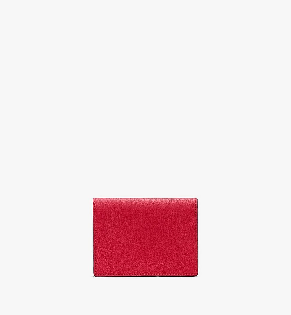 MCM Love Letter Wallet in Park Avenue Leather Red MYAASLV01R4001 Alternate View 1
