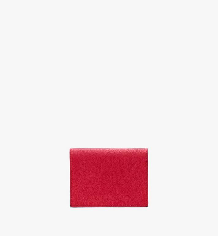 MCM Love Letter Mini-Brieftasche aus Leder in Park Avenue Red MYAASLV01R4001 Alternate View 2