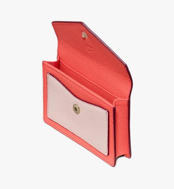 MCM Love Letter Mini-Brieftasche aus Leder in Park Avenue Red MYAASLV01R4001 Alternate View 3