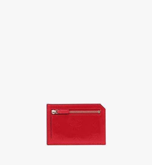 Card Case in Metallic Monogram Leather