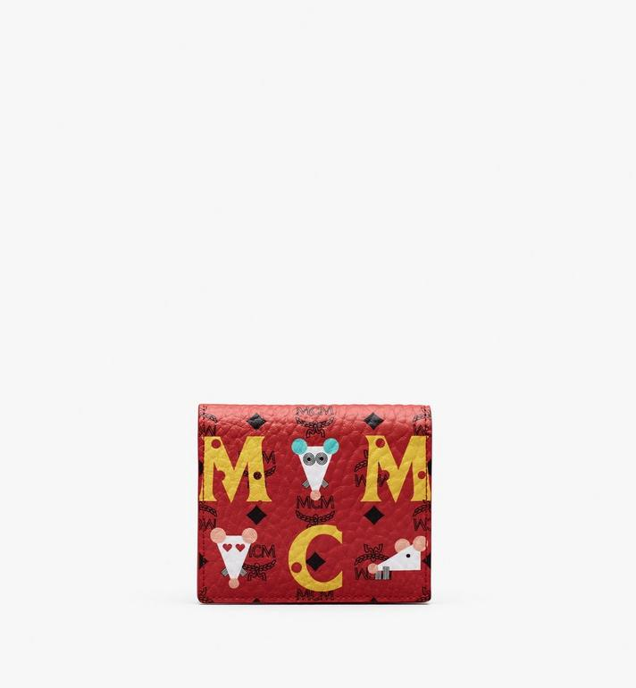 MCM Chinese New Year Mini Bifold Wallet Alternate View