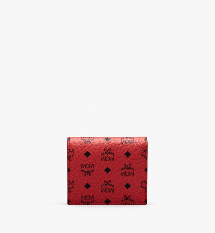 MCM Chinese New Year Mini Bifold Wallet Red MYAASXL01RJ001 Alternate View 2