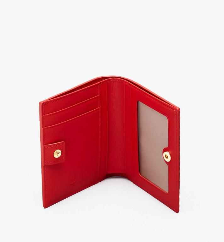 MCM Chinese New Year Mini Bifold Wallet Red MYAASXL01RJ001 Alternate View 3