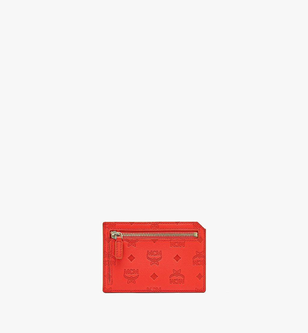 MCM Kartenetui Klara aus Leder mit Monogramm Red MYABSKM01R8001 Noch mehr sehen 1