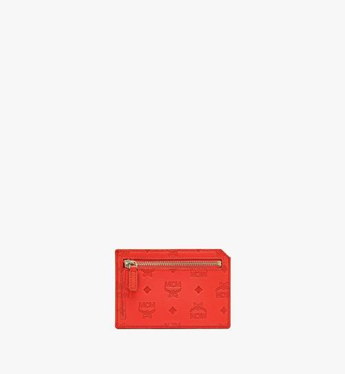 Porte-cartes Klara en cuir monogrammé