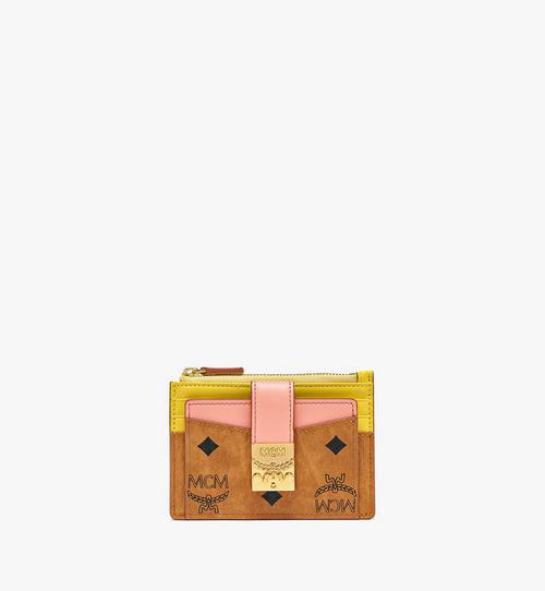 Patricia Zip Card Case in Visetos Leather Block