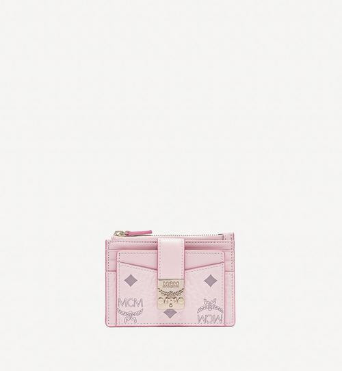 Patricia Zip Card Case in Visetos