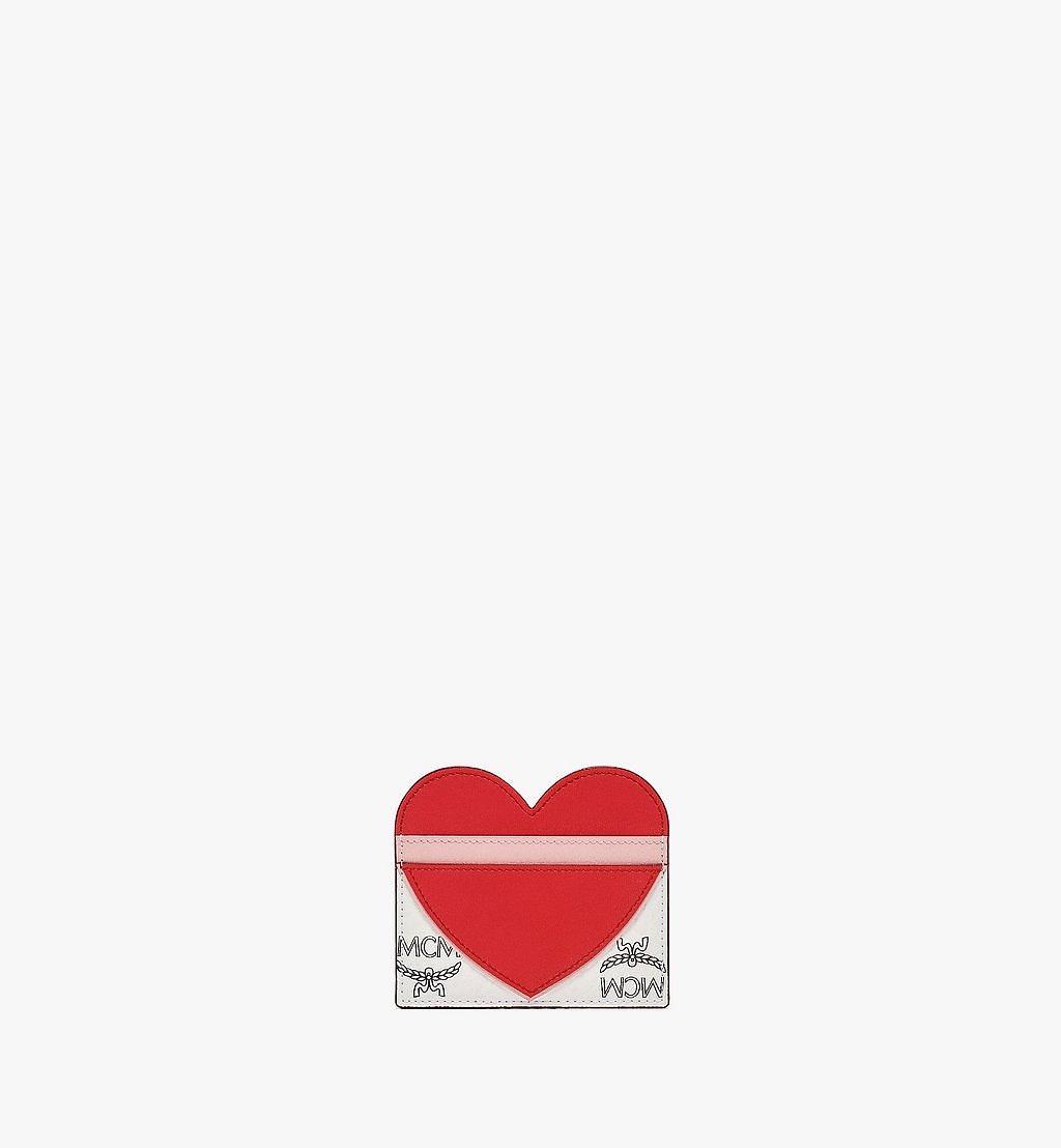 MCM Kartenetui Valentine aus Visetos Leather Mix Red MYABSVI01R4001 Noch mehr sehen 2